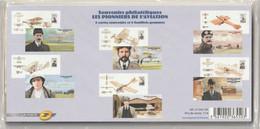 6 Blocs Souvenir Philatélique - LES PIONNIERS De L'AVIATION Du N° 49 A 54 - Neufs Sous Blister Cote 78 - Blocs Souvenir - Bloques Souvenir