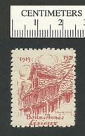 119-47 FRANCE Bonne Annee 1920 Stamp Lisieux Red MNH - Erinnofilia