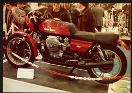 Photo Originale - Moto Moto Guzzi Le Mans - Voir Scan - Auto's