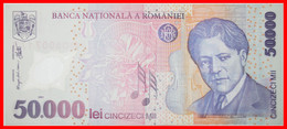 • ENESCU 1881-1955: ROMANIA ★ 50000 LEI 2002 (2001) CRISP PLASTIC! LOW START ★ NO RESERVE! - Rumania