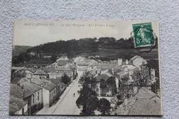 Cpa 1912, Doulaincourt, La Rue Pougny, Les Forges Ulmo, Haute Marne 52 - Doulaincourt