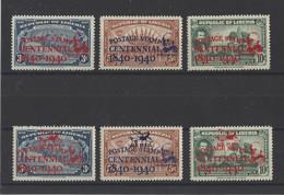 LIBERIA. YT  N° 253A/253C  PA N° 17/19   Neuf **/*   1941 - Liberia
