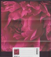 """Carte Enveloppe à Plier ( 21 X 9 Cm ) """" Coeur De Pivoine """" Par Garry Black - Other Photographers"""