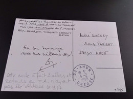 CPA.T.A.A.F. Dumont D'Urville.Rey Gourdon Turquet Charcot Matha  (084) - TAAF : Territorios Australes Franceses