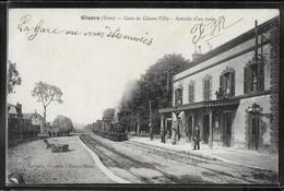 CPA 27 - Gisors, Gare De Gisors-Ville - Arrivée D'un Train - Gisors