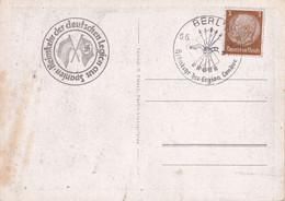 ALLEMAGNE 1939 CARTE DE BERLIN - Briefe U. Dokumente
