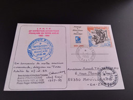 CPA.T.A.A.F. Dumont D'Urville. André Pruhomme.   (0102) - TAAF : Territorios Australes Franceses