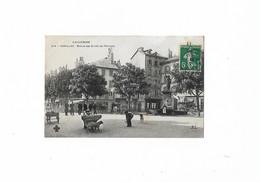 Aurillac En 1909..Statue Des Droits De L'Homme..Voir Scan. - Aurillac