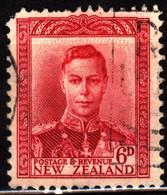 New Zealand 1947 Mi 246 King George VI (1) - Used Stamps