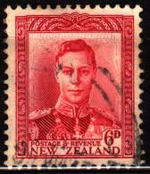 New Zealand 1947 Mi 246 King George VI (2) - Used Stamps