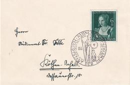 ALLEMAGNE 1939 LETTRE DE MÜNCHEN - Briefe U. Dokumente