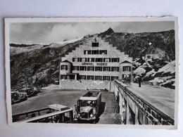 CPSM - Grimsel (Suisse -Berne BE), L'Hospiz Avec Car Postale SAURER, Non Voyagée, 1939 - BE Berne