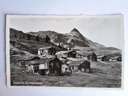 CPSM - Bettmeralp (Suisse - Valais VS), Bettmeralp Mit Bettmerhorn, Ensemble De Châlets De Montagne, Non Voyagée, 1939 - VS Valais