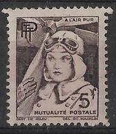 France Vignette Neuve** 5F Mutualité Postale à L'Air Pur - Sonstige