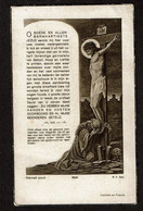 Souvenir Pieux - Vincent GOOSSENS (P. Heylen) - Bourgmestre D'Oelegel - Calloo 1883 / Oelegem 1943  2 Scans - Devotion Images