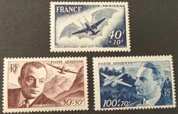 Poste Aérienne N° 21 à 23 Neuf * Gomme D'Origine  TTB - 1927-1959 Nuevos