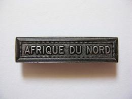 "Agrafe Ordonnance ""AFRIQUE DU NORD"" - Fabrication Mourgeon - France"