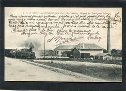 CPA - NIEUL ST GEORGES - La Laiterie - Départ Du Train Pour Saintes - Other Municipalities