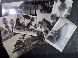 SINGAPORE SINGAPOUR - Lot 8x Postcards !!! - Singapore