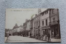 Cpa 1919, Saint Dizier, Rue Du Marché, Haute Marne 52 - Saint Dizier