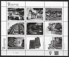 France Vignette Bloc De 9 Vignettes Neuves** 1991 Chateau D'Amboise Avec étui De Protection - Otros