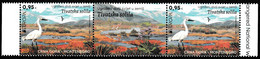 Europa Cept - 2021 - Montenegro - Gutter_Pairs+With Labels - (Wildlife) ** MNH - 2020
