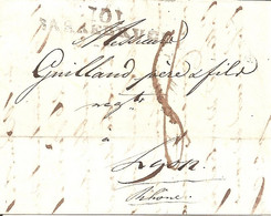 101 / SARREBRUCK. Marque à Numéro Du 18 Septembre 1812. - 1792-1815: Dipartimenti Conquistati