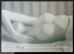 Sexy Sein Nude Female Carte Postale - Pin-Ups