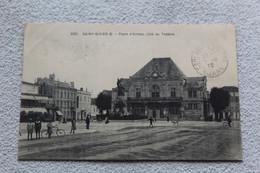 Cpa 1915, Saint Dizier, Place D'armes, Côté Du Théâtre, Haute Marne 52 - Saint Dizier