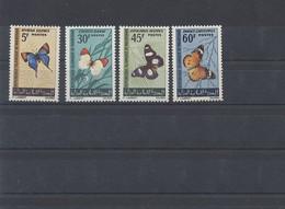 Mauretanien 1966 MiNr. 290/3 ** - Schmetterlinge - Postfrisch - Mauritania (1960-...)