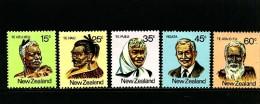 NEW ZEALAND - 1980  MAORI DEFINITIVE  SET  MINT NH - Ungebraucht