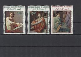 Mauretanien 1968 MiNr. 344/6 ** - Gemälde - Postfrisch - Mauritania (1960-...)