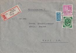R - Brief Aus Werl Vom 7.2.1952 - Zonder Classificatie