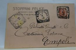 MONTAGNANA   -- PADOVA  --   STOPPANI FELICE -- NEGOZIANTE RAME - Padova