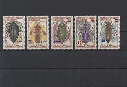 Mauretanien 1974 MiNr. 488/92 ** - Insekten / Käfer - Postfrisch - Mauritania (1960-...)