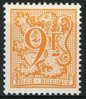 België 2159P6 - Heraldieke Leeuw - 9F Oranje - POLYVALENT - Ongebruikt