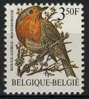 België 2223P7c - Vogels - Oiseaux - André Buzin - 3,50 Roodborstje - LGG Ty4 - Niet Gelijnde Gom - Gomme Non Lignée - 1985-.. Vogels (Buzin)