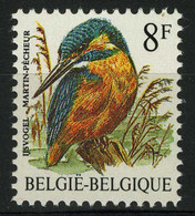 België 2240P7c - Vogels - Oiseaux - André Buzin - 8F Ijsvogel - LGG Ty4 - Niet Gelijnde Gom - Gomme Non Lignée - 1985-.. Vogels (Buzin)