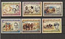 Mauretanien 1977 MiNr. 563/8 ** - Nobelpreis - Postfrisch - Mauritania (1960-...)