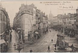 CLERMONT- FERRAND  -  Rue Neuve Et Rue Saint-Louis - Clermont Ferrand