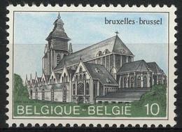 België 2138P5a - Kapellekerk Brussel - Witte Gom - Gomme Blanche - Ongebruikt