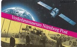 GERMANY(chip) - Satellite, Verkehrsmuseum Nürnberg Post(A 22), Tirage 42000, 06/93, Mint - Spazio