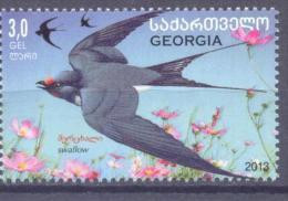 2014. Georgia,  Swallou,  1v, Mint/** - Georgia