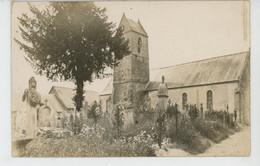 PLANQUERY - Belle Carte Photo De L'Église Au Début Du XXème Siècle - Andere Gemeenten