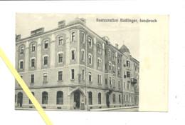 AK Innsbruck - Restauration Radlinger - 1915 - Innsbruck