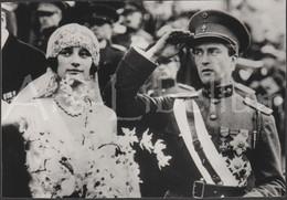 LARGE Photo / ROYALTY / Belgique / België / Reine Astrid / Koningin Astrid / Roi Leopold III / Koning Leopold III - Personalità