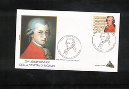 Vatican / Vatikan 2006 Wolfgang Amadeus Mozart FDC - FDC