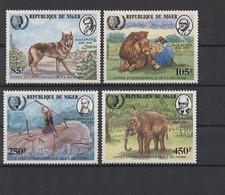 Niger 1985 MiNr. 933/6 ** - Tiere - Postfrisch - Niger (1960-...)