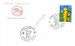 FDC Cavallino 2000 - Europa - Annullo Figurato - Sin Clasificación