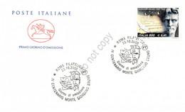 FDC Cavallino 2000 - 4° Centenario Morte Di Giordano Bruno - Annullo Figurato - Zonder Classificatie
